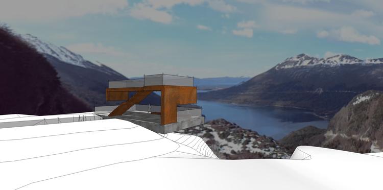 La obra en Paso Garibaldi permitirá disfrutar el paisaje en dos niveles