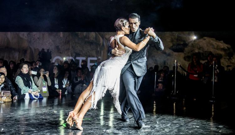 Show de tango en la Noche Argentina